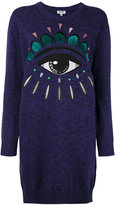 Kenzo Eye sweatshirt dress - women - Cotton - XS