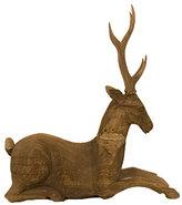 Vintage Wooden Deer