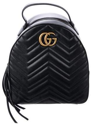 ca306adbc9d4 Gucci Leather Backpack - ShopStyle