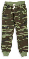 Vintage Havana Girls 7-16 Distressed Camouflage Sweatpants
