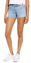 Levi's 501(R) High Waist Cutoff Denim Shorts
