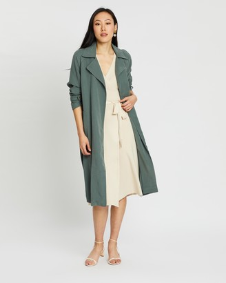 Mng Taxi Trench Coat