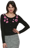 Elle Women's ELLETM Floral Embroidered Cardigan