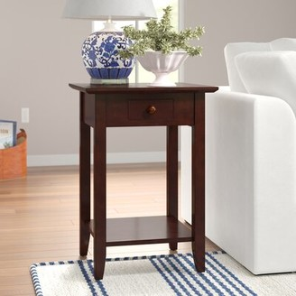 Three Posts Inman End Table Color: Expresso