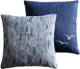 Molteni Sky-Line & Seagulls Set Of 2 Pillows