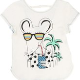 "Little Marc Jacobs Girl's ""Mouse"" Graphic Tee"