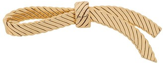Christian Dior 1980s Pre-Owned Ribbon Motif Brooch