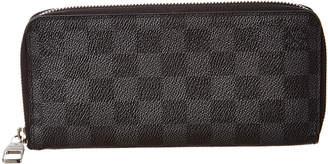 Louis Vuitton Damier Graphite Canvas Zippy Wallet