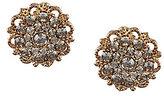 Natasha Accessories Flower Stud Earrings