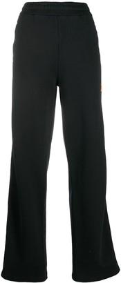 Heron Preston Logo Patch Straight Trousers