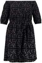 City Chic Summer dress black