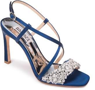 Badgley Mischka Collection Elana Embellished Slingback Sandal