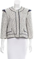 Proenza Schouler Patterned Long Sleeve Jacket