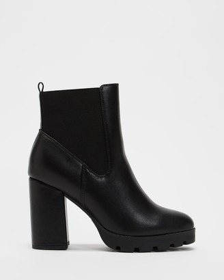 Dazie - Women's Black Chelsea Boots - Kalita Ankle Boots - Size 5 at The Iconic