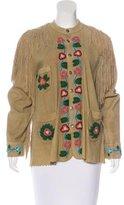 Polo Ralph Lauren Embellished Suede Jacket