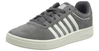 K-Swiss Women's Court Cheswick SDE Low-Top Sneakers, Grey (Smoked Pearl/Snowht 059)