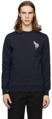Paul Smith Navy Halo Zebra Sweatshirt