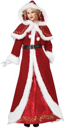 California Costumes Women's Mrs. Claus Deluxe Adult