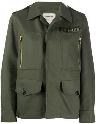 Zadig & Voltaire Kode military jacket