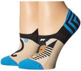 Stance Leo Super Invisible Women's Crew Cut Socks Shoes