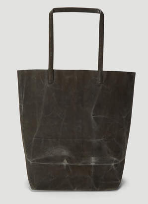Funagata 002 Waxed Long Handle Bag in Grey