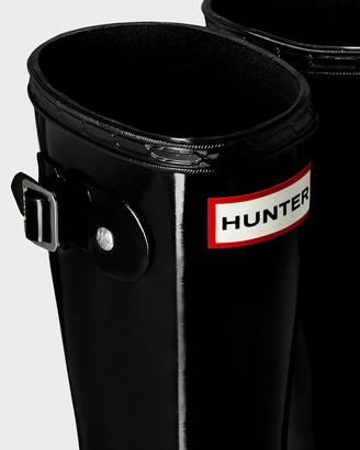 Hunter Original Big Kids Gloss Wellington Boots