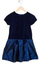 Jacadi Girls' Bow-Embellished A-Line Dress