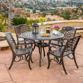 JCPenney Saint Barth 5-pc. Outdoor Cast Aluminum Dining Set