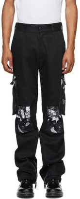 424 Black Wu-Tang Cargo Pants