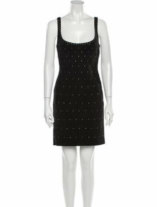 Herve Leger 2020 Mini Dress w/ Tags Grey