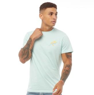 Dstruct Mens Graphic Print T-Shirt Spearmint