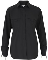 Amanda Wakeley Double Pocket Black Shirt
