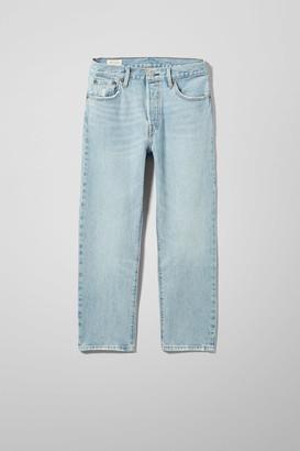 Weekday 501 Crop Lovefool Jeans - Blue