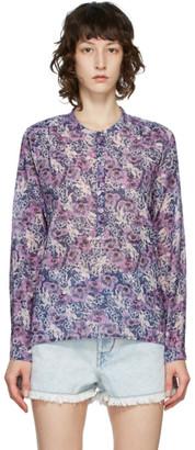 Etoile Isabel Marant Purple Maria Blouse
