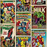Graham & Brown Wallpaper Sample - Marvel Action Heroes