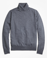 Brooks Brothers Saxxon Wool Turtleneck Sweater