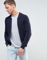 Sisley Knitted Bomber Jacket