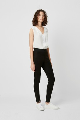 French Connection Sonya Suedette Front Split Leggings