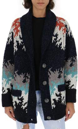 Missoni Colour Block Knitted Cardigan