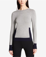 DKNY Colorblocked Pullover Sweater