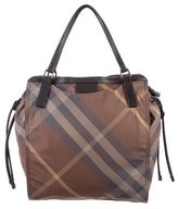Burberry Smoked Check Tote Bag