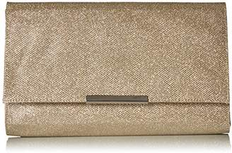 Jessica McClintock Women's Nora Large Envelope Glitter Clutch