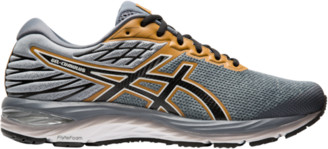 Asics GEL-Cumulus 21 Running Shoes - Stone Grey / Performance Black