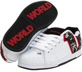 World Industries Showcase (White/Black/Red) - Footwear