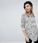 Asos long sleeve Shirt in Abstract Animal