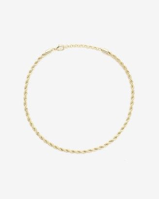 Express X Luv Aj Twisted Rope Chain Necklace