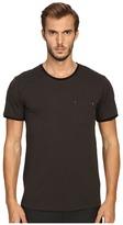 The Kooples River Skull Pocket Crew Neck T-Shirt Men's T Shirt