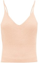 Skin - Deidre Mineral-infused Cotton-blend Camisole - Womens - Light Brown