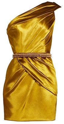 Ralph and Russo One-Shoulder Mini Dress