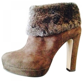 Max Mara Brown Ankle boots